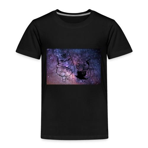 Katzen Galaxie - Kinder Premium T-Shirt