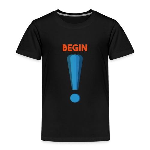 logo point exclamation - T-shirt Premium Enfant