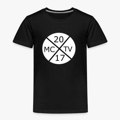 Weißes Runde McggNicolaTv Logo - Kinder Premium T-Shirt