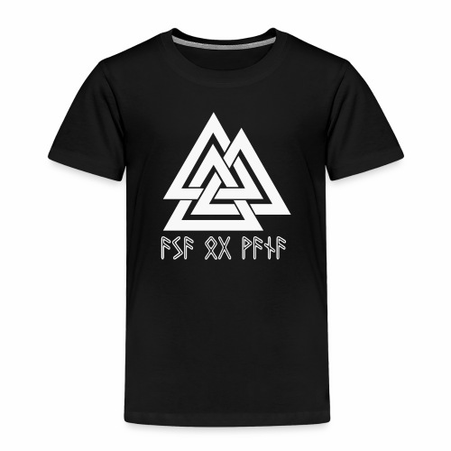 Asa og Vana - Kinder Premium T-Shirt