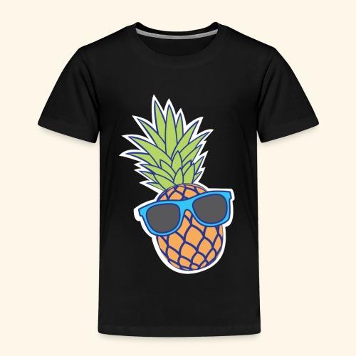 ananas met zonnebril - Kinderen Premium T-shirt