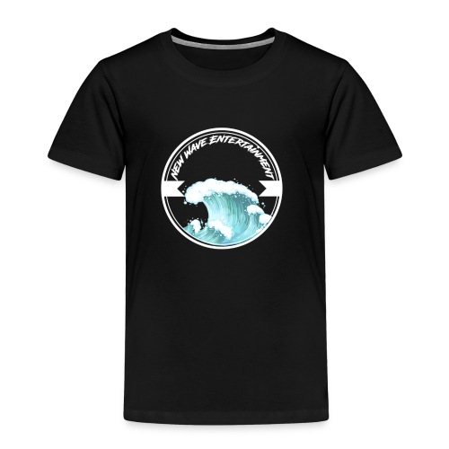 New Wave Entertainment Logo T-Shirt [Support Us] - Kids' Premium T-Shirt