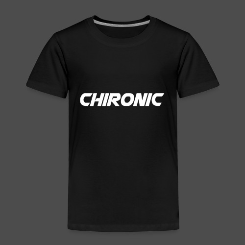 Chironic Text White - Kinderen Premium T-shirt
