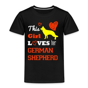 German shepherd - Kinder Premium T-Shirt