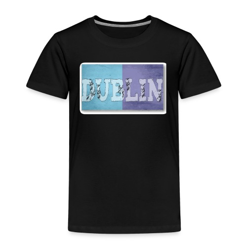 Dublin Distressed Flag T-Shirt - Kids' Premium T-Shirt