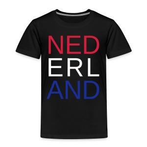 Nederland in de kleuren van de vlag - Kinderen Premium T-shirt