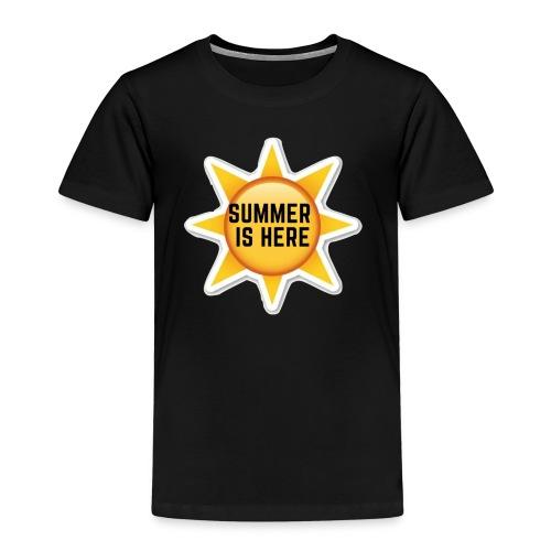 Official Summer Is Here Branded Merchandise! - Kids' Premium T-Shirt