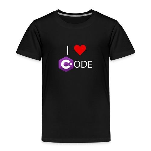 I LOVE C # ODE - Kids' Premium T-Shirt