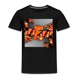 Mystical Foxes märket - Premium-T-shirt barn