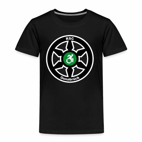 RSClogoRandweissDick - Kinder Premium T-Shirt