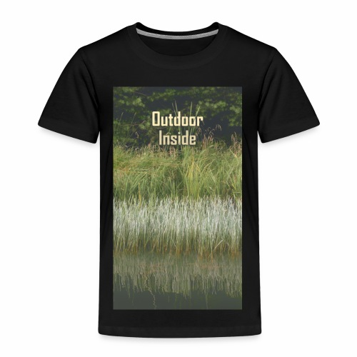 Outdoor Inside - Kinder Premium T-Shirt