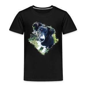 colliegermanshepherdpup - Kids' Premium T-Shirt
