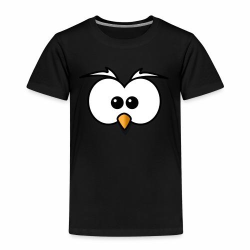 Eule Face - Kinder Premium T-Shirt