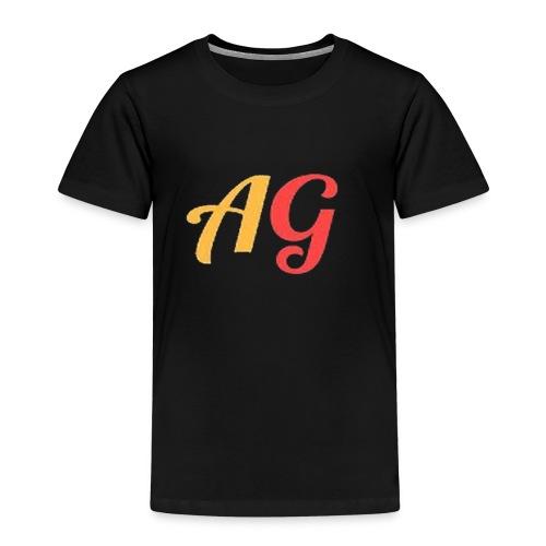 Gekleurde letters - Kinderen Premium T-shirt