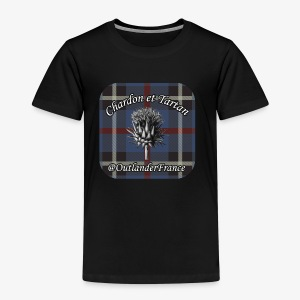 Chardon et Tartan vector logo high res - T-shirt Premium Enfant