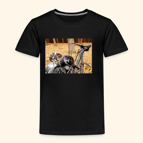 Freetree Motorrad pic - Kinder Premium T-Shirt