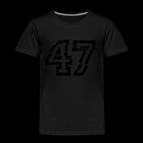 47 broken - Kinder Premium T-Shirt