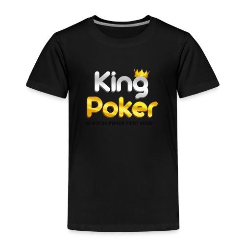 Logo King Poker 2 - T-shirt Premium Enfant