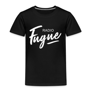 Radio Fugue Blanc - T-shirt Premium Enfant