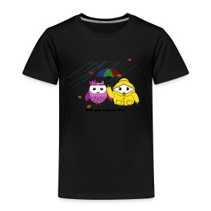 Owl you need is love Herbstedition - Kinder Premium T-Shirt