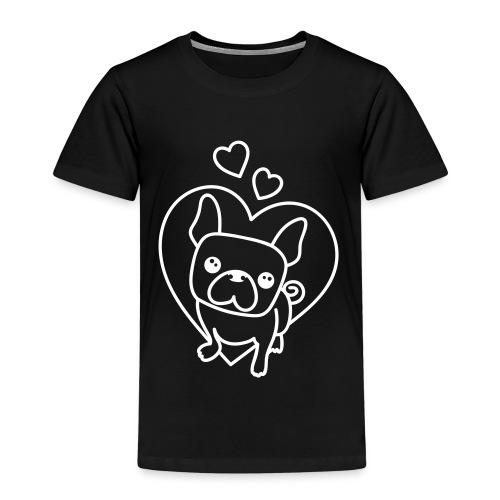 Frenchie Love - Kinder Premium T-Shirt