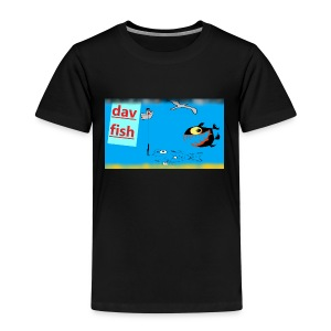 dav fish , saltfishing - T-shirt Premium Enfant