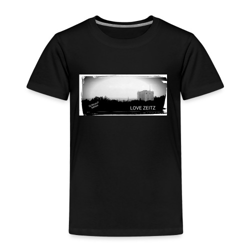 Zeitzer Skyline - Kinder Premium T-Shirt