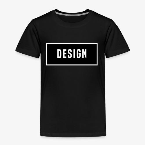 design logo - Kinderen Premium T-shirt