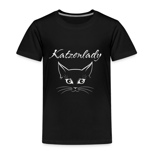 Katzen T-Shirt - Katzenlady - Kinder Premium T-Shirt