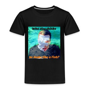 Twosync Chris - Fish - Kids' Premium T-Shirt