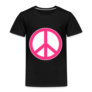 Peace, Love and Happiness - Kinderen Premium T-shirt