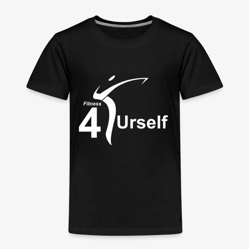 Logo Fitness 4 Urself - Kinder Premium T-Shirt