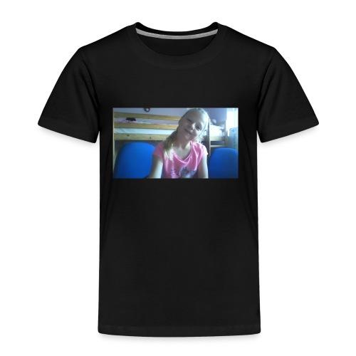 purple happy merch - Kids' Premium T-Shirt