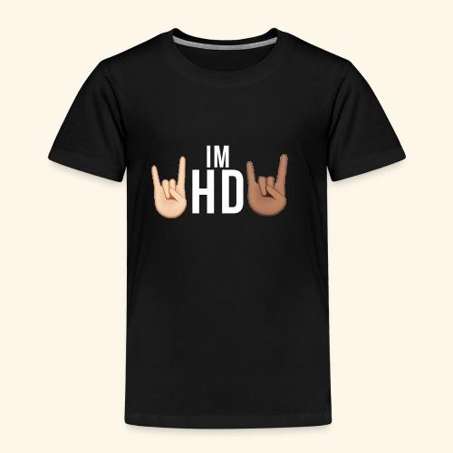 IM HD WHITE - Kids' Premium T-Shirt