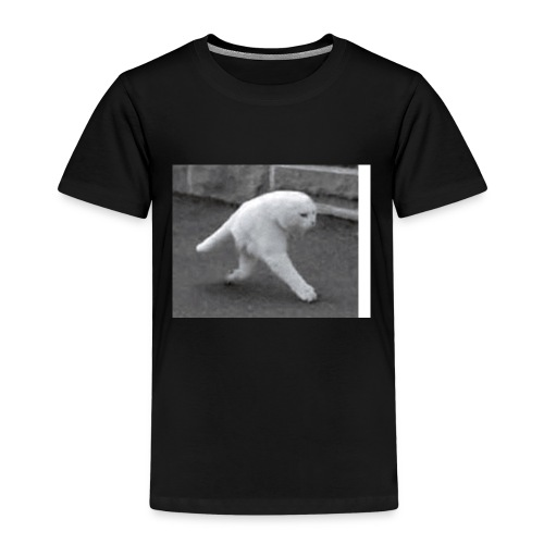 weird cat - Kinderen Premium T-shirt