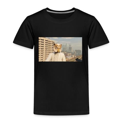 White Owl Mask - Kids' Premium T-Shirt