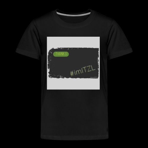 """Thank's"" - Kinder Premium T-Shirt"