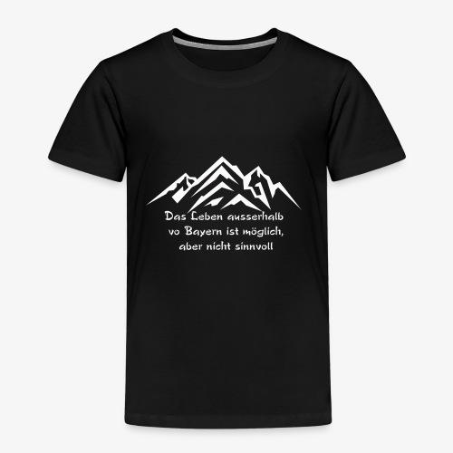 Das Leben - Kinder Premium T-Shirt