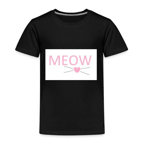 MEOW - Koszulka dziecięca Premium