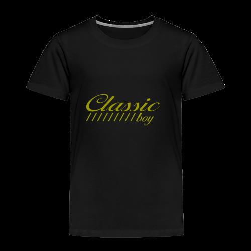 ClassicBoyGold - Kinder Premium T-Shirt