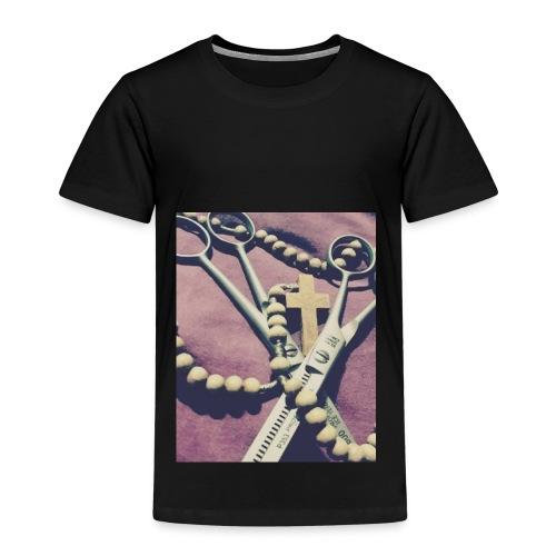 Nożyczki Różaniec - Koszulka dziecięca Premium