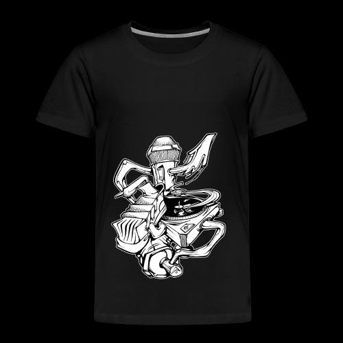 The Real HipHop Elements - Kinder Premium T-Shirt