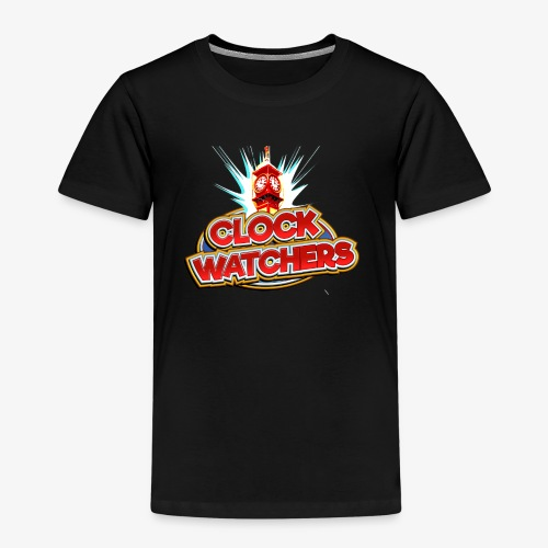 The Clockwatchers logo - Kids' Premium T-Shirt