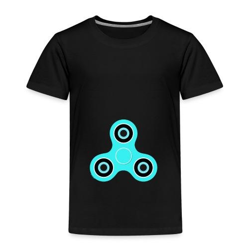 Fidget Spinner Hellblau - Kinder Premium T-Shirt