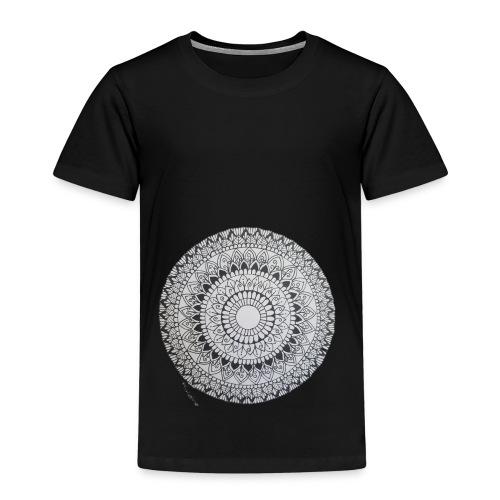 Mandala Black&White - Kinder Premium T-Shirt