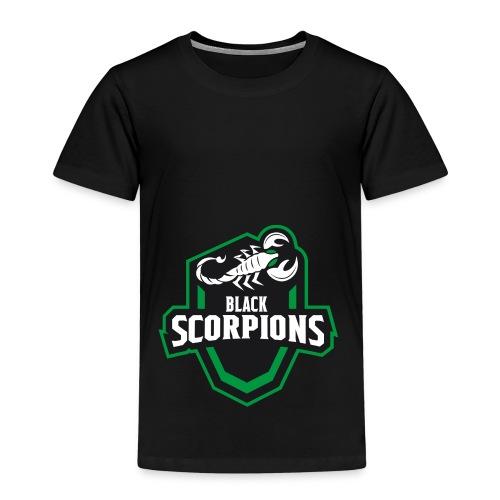 Black Scorpions Logo - Kinder Premium T-Shirt