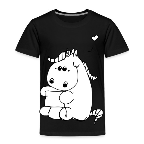 Pummeliges Einhorn - Kinder Premium T-Shirt