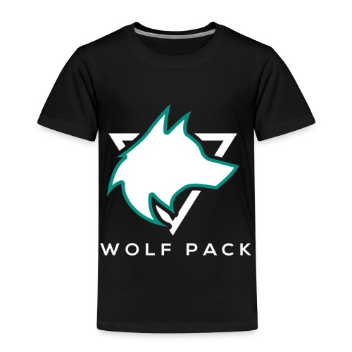 Wolf Pack Logo (NEW) - Kids' Premium T-Shirt