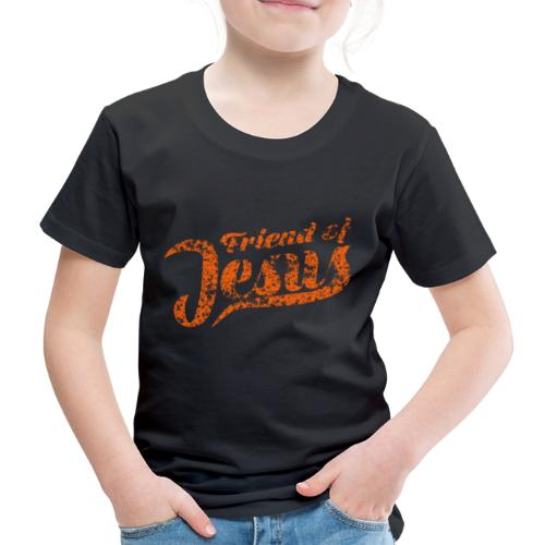 Friend of Jesus orange - Kinder Premium T-Shirt
