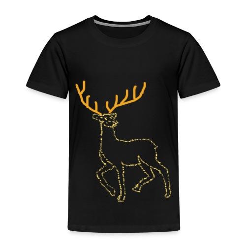 Reindeer print clothes | Gift for Christmas | Jul - Børne premium T-shirt